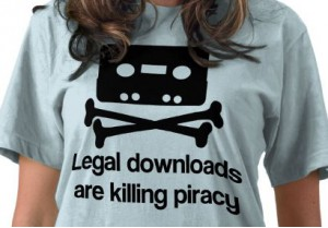 Legal downloads killing piracy