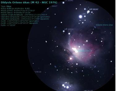 Oriono Ūkas (M42)