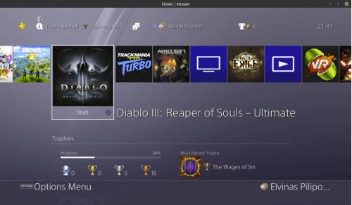 Diablo III Linux sistemoje